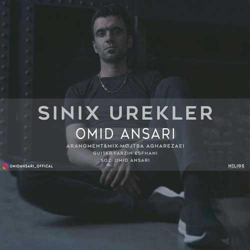 دانلود آهنگ ترکی امید انصاری به نام سینیخ اورگلر