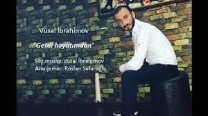 دانلود آهنگ ترکی وصال ابراهیموا بنام گتدی حیاتیمنان