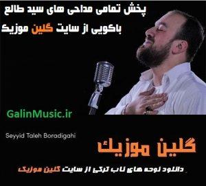 دانلود آهنگ ترکی سید طالع باکویی بنام دردلره درمان حسین